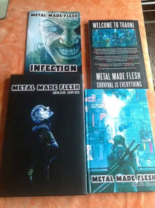 Previous editions of Metal Made Flesh