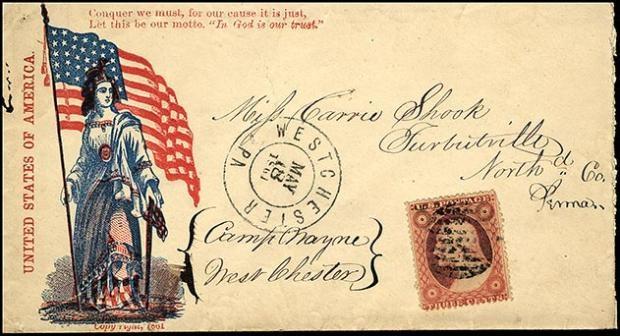 Patriotic Cover - Image: Postal Museum