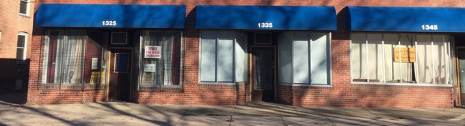 On the far left is our expansion space, the far right is our current location.