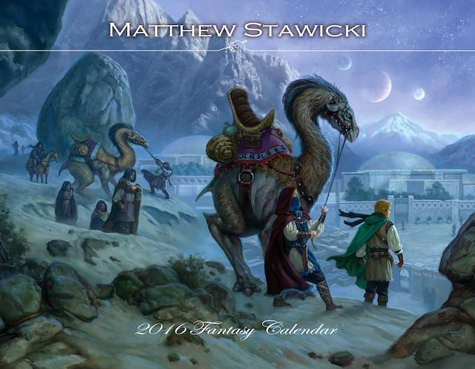 MATTHEW STAWICKI 2016 FANTASY CALENDAR