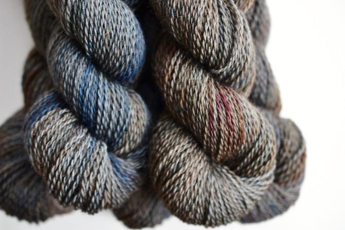 MOORESBURG COLOURWAY shown in Mooresburg Double Knit yarn