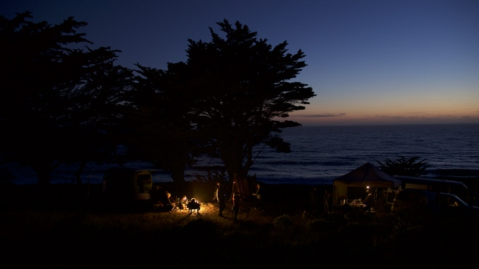 THE LOVE EFFECT Campground - one of our on location sets!