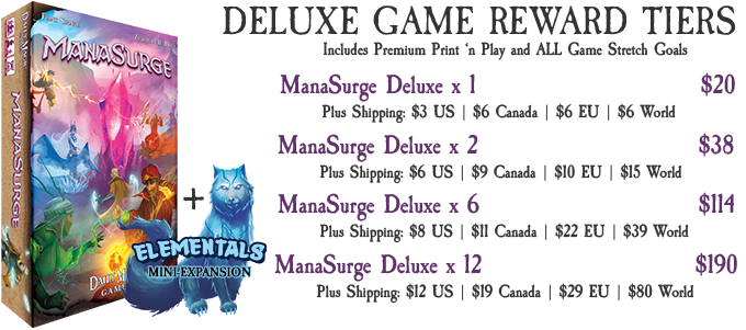 Deluxe Games include ALL Stretch Goals!