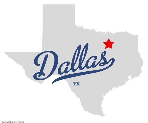 Graphic of Dallas, TX