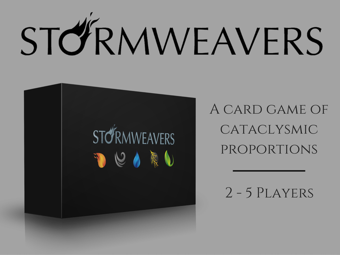 Stormweavers is a fast-paced version of king-of-the-hill that involves magic, betrayal, and survival.