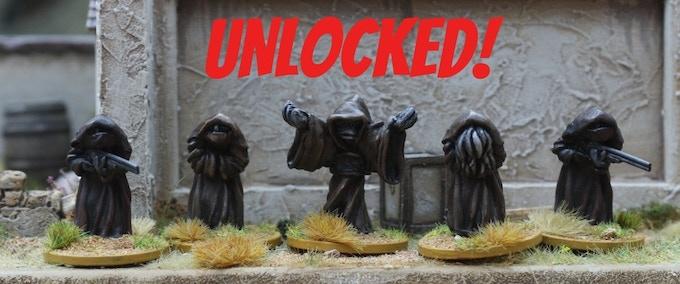 Dark Clergy....UNLOCKED!