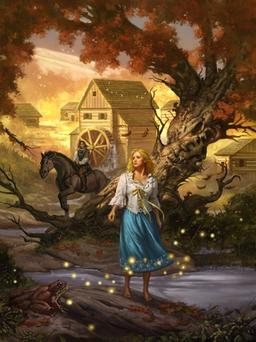 """A Turn of Light"" Art by Matthew Stawicki"