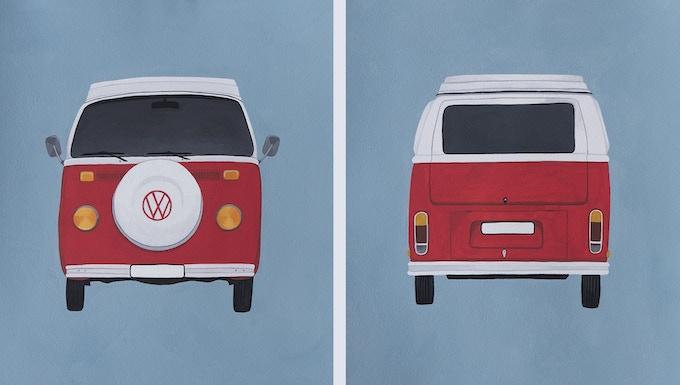 Front & Back WV Illustrations