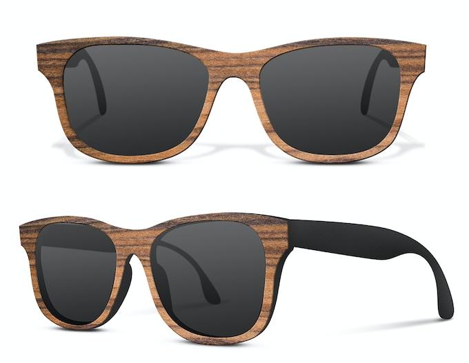 BioCarbon Sunglasses made of eco friendly materials