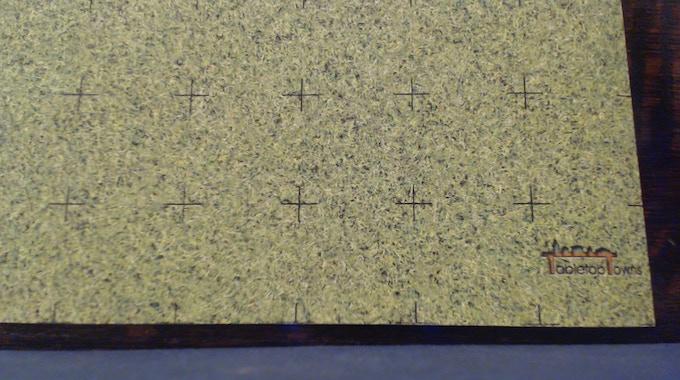Grass Field mat detail