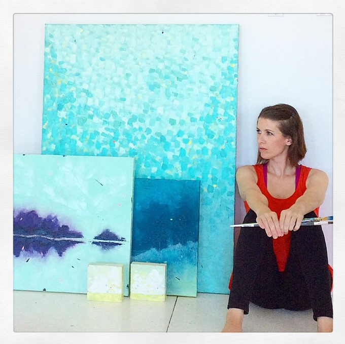 Nicolette Valikoski creates work inspired by the Canadian landscape