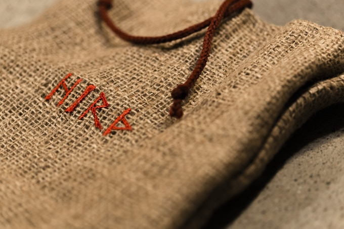 The HIRÞ bag  (The game in the picture is a prototype.)