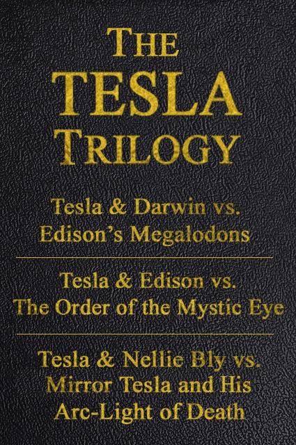 All three Tesla Trilogy novels in one handsomely bound full-sized hardback.