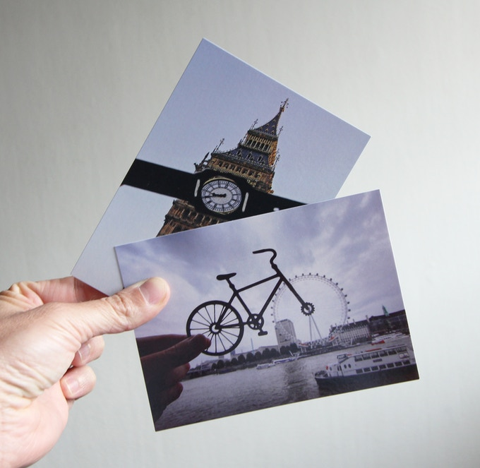 some of the postcards available