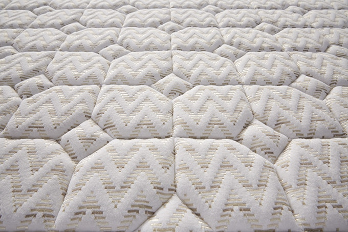 Bamboo viscose blended fabric with quilting