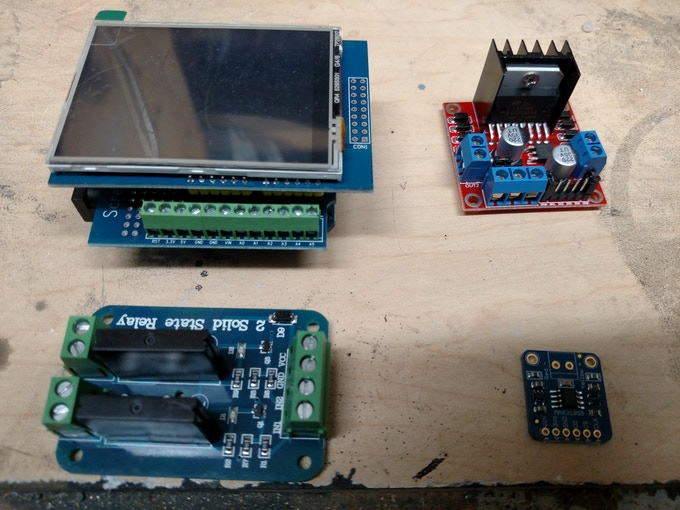 New Control Electronics