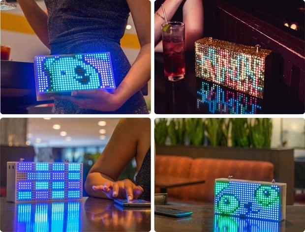 LED-Handtasche