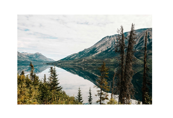8x10 print - Alaska by Anthony Kerrigan + Lost Vol 2 $50