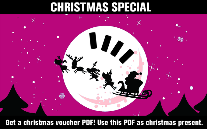 We will send a christmas voucher (PDF) to every supporter after the campaign. Use this voucher as christmas present. The LightCans will be shipped in February.