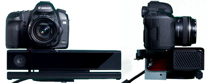 DepthKit V2 DIY Package (SLR & Kinect not included)