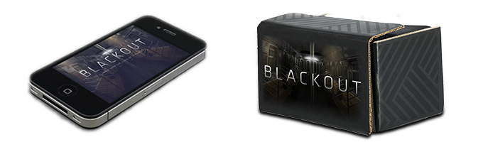 $40 - All you need: A Blackout branded 'Google Cardboard' to turn any smartphone into a VR display