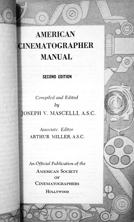 ASC Manual: Second Edition, 1966
