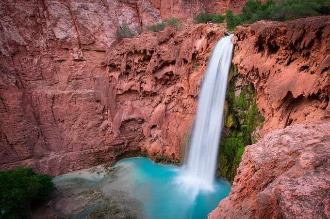 Mooney Falls, Arizona // Photo By Aly Nicklas