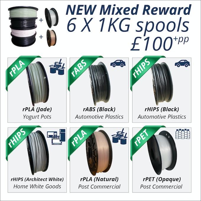 NEW 6 x 1KG Spools reward