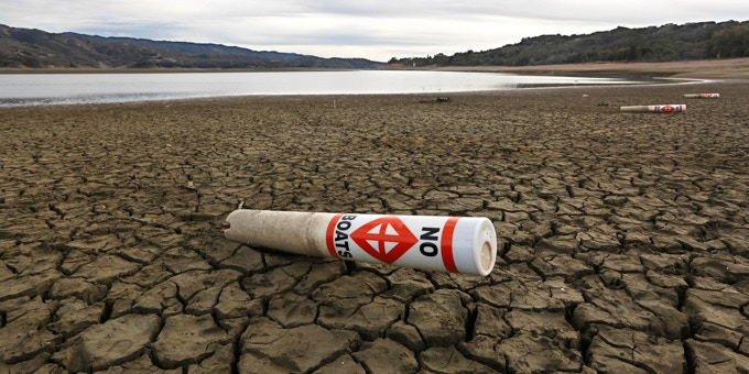 California drought.