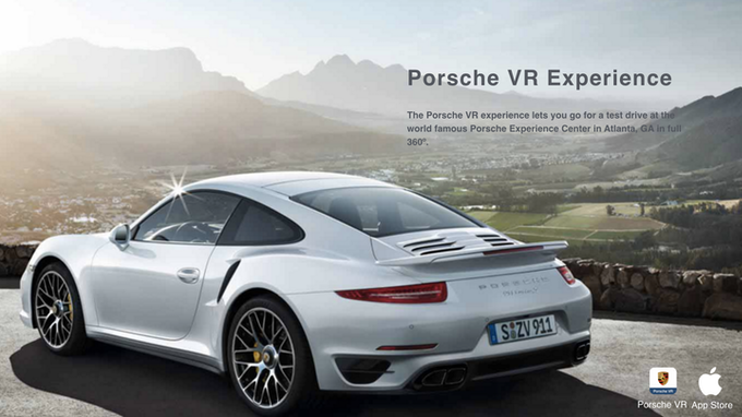 The Porsche VR experience lets you go for a test drive at the world famous Porsche Experience Center in Atlanta, GA in full 360º.