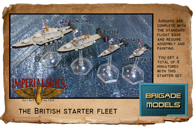 British Starter Fleet