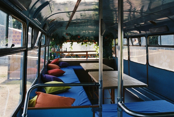 The upper deck (perfect for talks or parties)