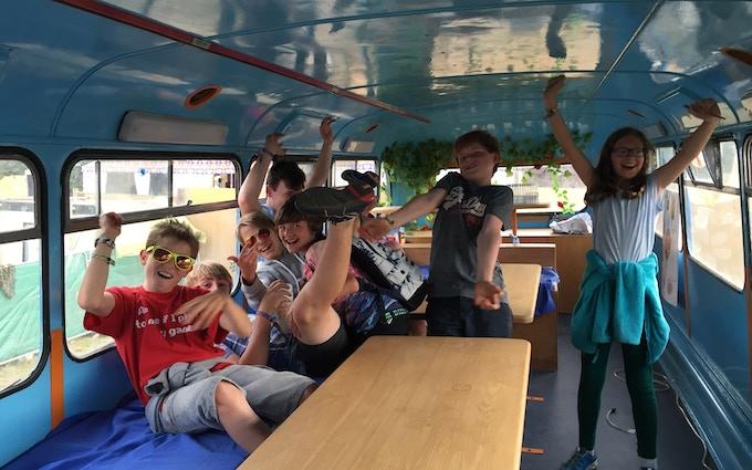 Kids love the Membus!