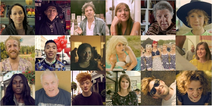 Some of the wonderful faces from the videos we've collected