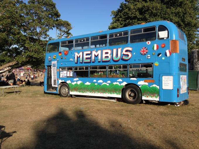 The glorious Membus, art-work by our designer Mathieu