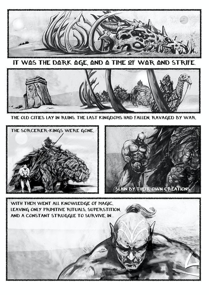 Talislanta: Tales of the Savage Land page 1