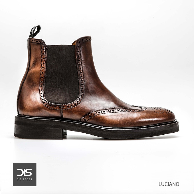 Luciano - Chelsea Wing Brogue