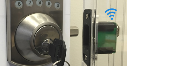 Patent-pending Smart Door Sensor