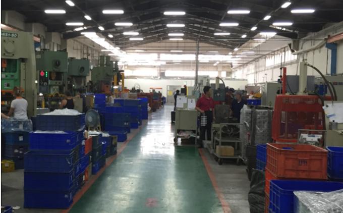 BLUEGUARD-E Lock Manufacturing plant in Taiwan