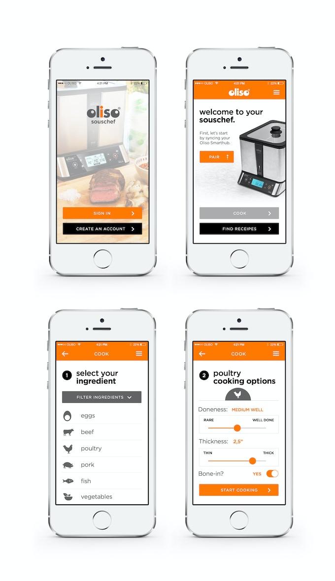 Oliso Prototype App Design