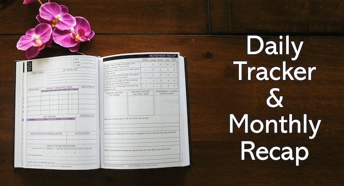 Daily Tracker & Monthly Recap Spread