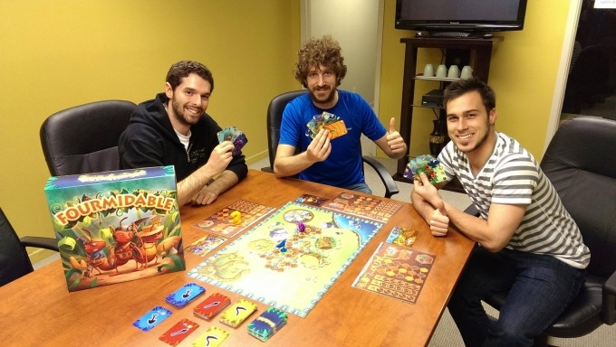 Sphere Games - From left to right: Simon Bélanger, Maxime Tardif, Simon Touzel