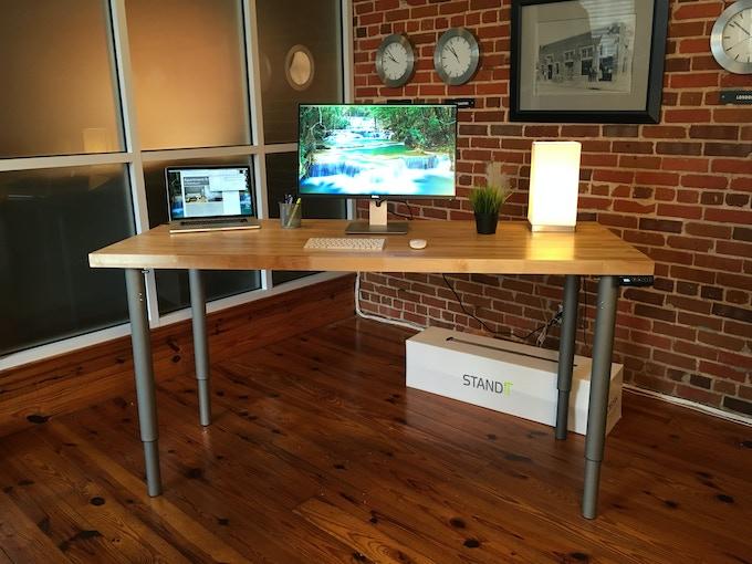 StandiT desk (StandiT Kit + StandiT Top) - at our office