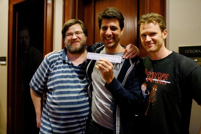 David Wright, Sean Platt and Johnny B. Truant