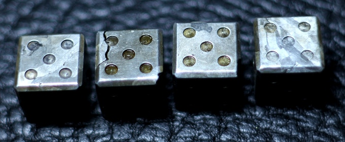 The pips show a small amount of the protectant as it pools in them as it dries. This can be polished out if desired.