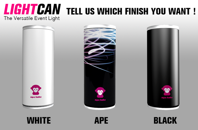 Tell us which finish you want! We will ask you after the campaign.