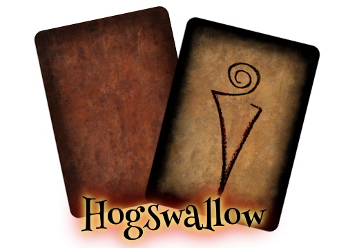 Hogswallow Card Sample - Front & Back