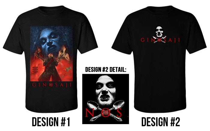 Backers will be able to select their T-shirt once the campaign ends.