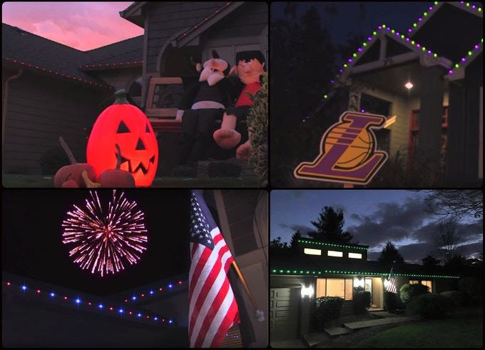 Halloween, Game Day, 4th of July, Veteran's Day