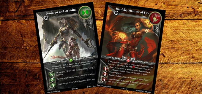 Terra & Hellscions Hero Cards